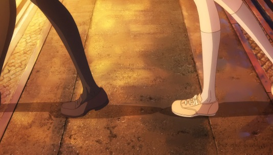 アニメ2話では立ち止まらなかった二人